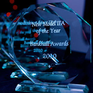 Bankhall New Model IFA of the Year 2010 award